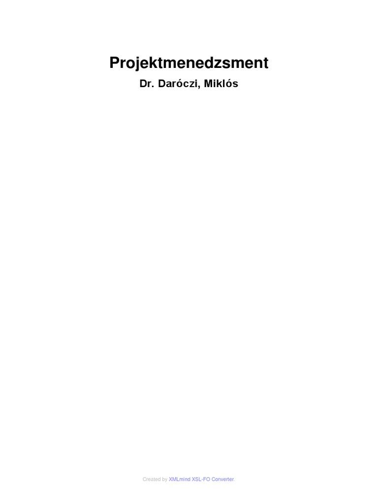 Projektértékelési módszerek - PDF Free Download