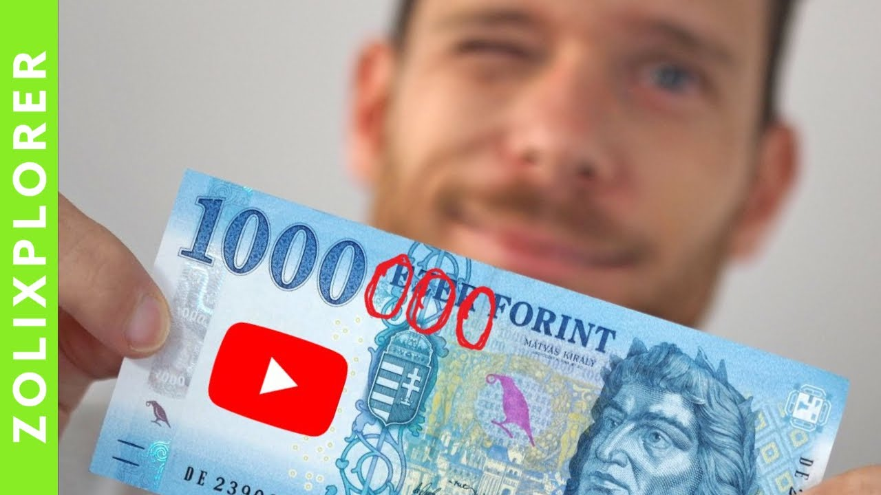 Hogyan lehet pénzt keresni YouTube videózással?