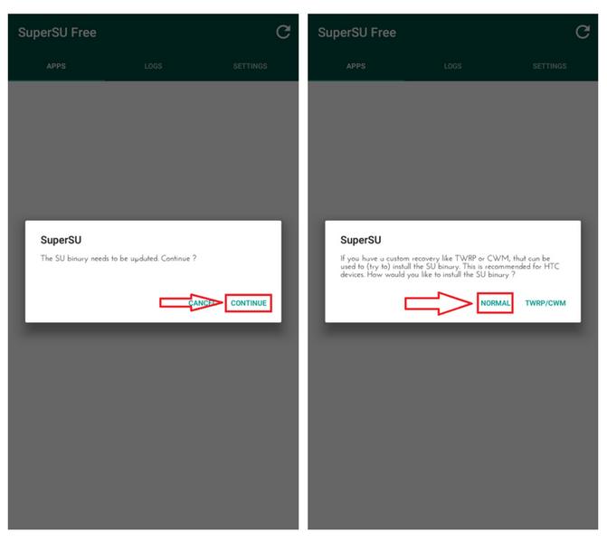 Android telefon: mi az 'su bináris'? Mit várhatok, ha frissítettem?