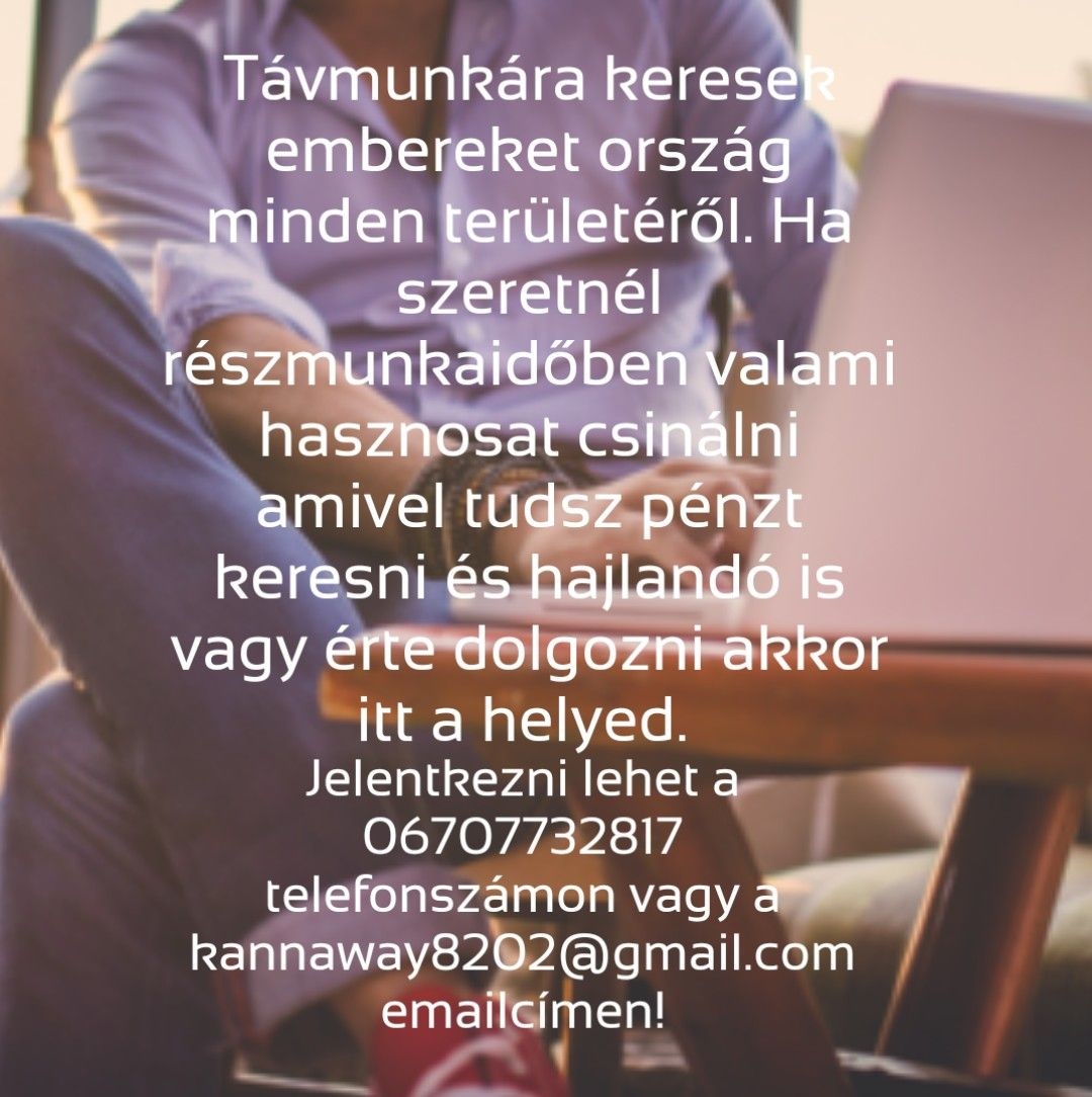 dolgozni és pénzt keresni