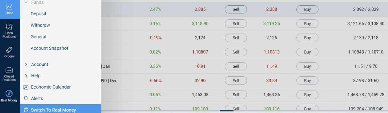 kereskedelem bináris opciók bemutató számla internetes befektetési passzív jövedelem