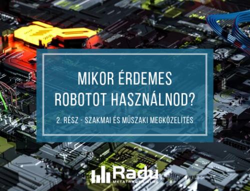 kereskedési robot terjedésben