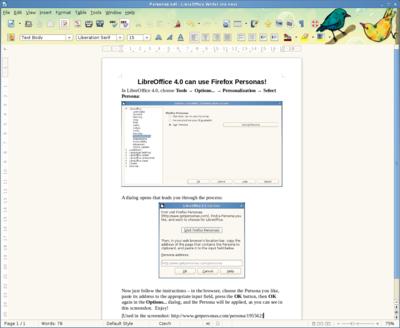 LibreOffice 4.0 kiadási megjegyzések