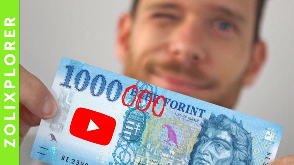 Pénzkeresés a YouTube -bal / Hogyan keresünk milliókat vele (évente) és hogyan tudsz Te is?