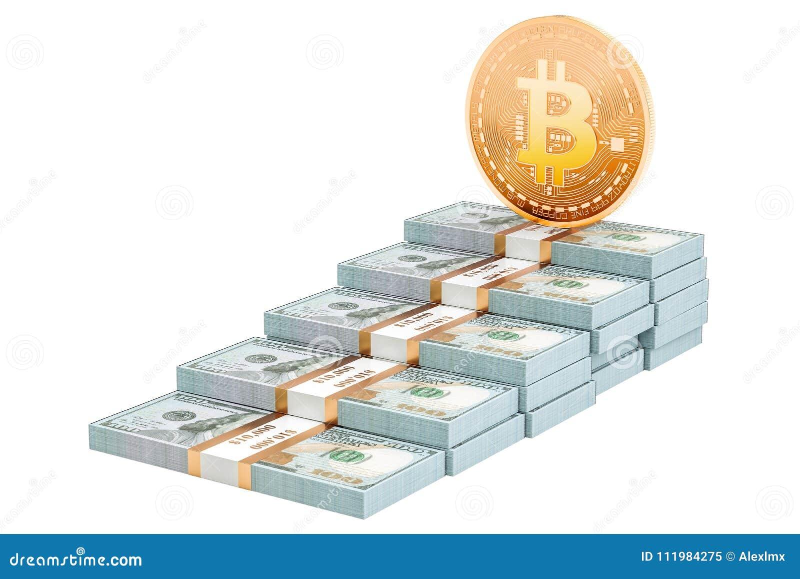 a bitcoin dollárt ér