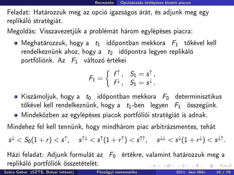 bináris opcióelmélet