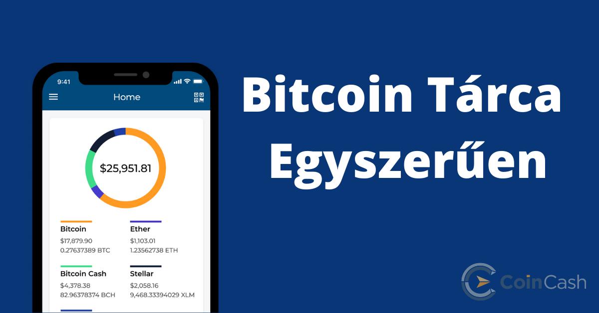 Bitcoin tárca telepítése kezdőknek; Blockchain wallet
