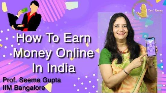 pénzt keresni online a webhelyén