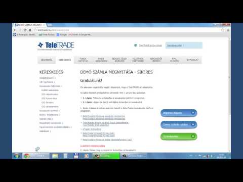 demo kereskedői számla hálózati bevételek weboldal nélkül