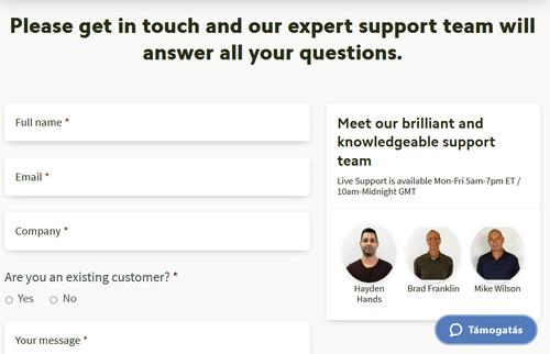 weboldalon online véleményeket szerezhet