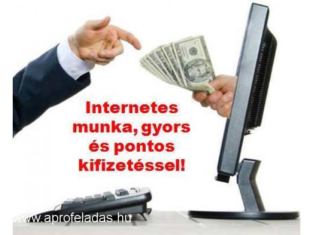 kereset az interneten napi fizetéssel legjobb kereskedési jel