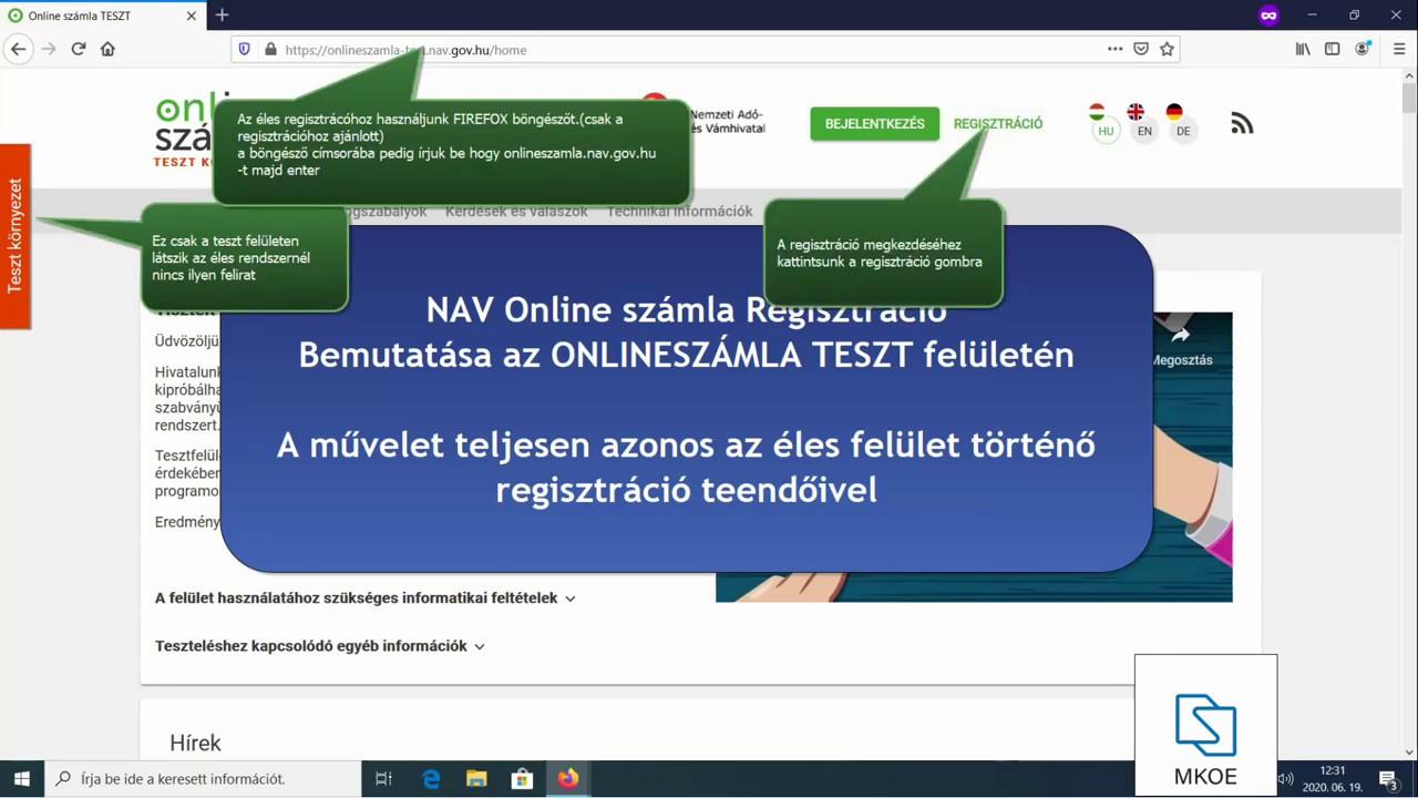 Ingyenes Online Számlázó - E-Számla Online