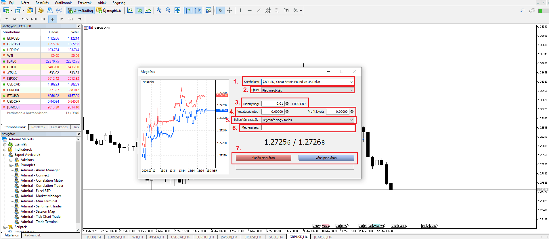 NinjaTrader kereskedési platform használata