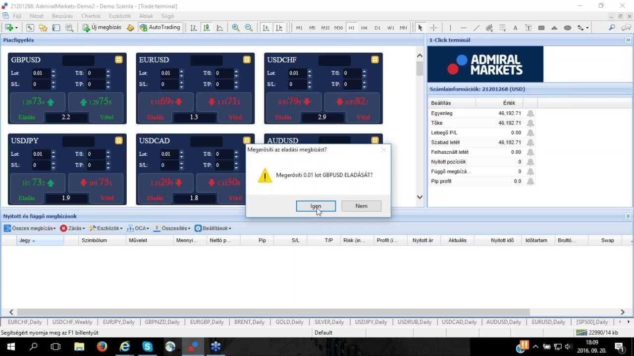 terminál demo számlával bináris opciók muszlimok számára