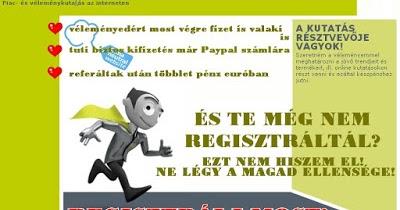 valaki online keres pénzt