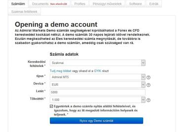 Tőzsde Demo számla - Amit tudni érdemes a Forex Demo számláról