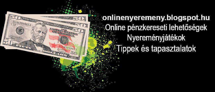 Valós internetes pénzkereseti lehetőség Állás
