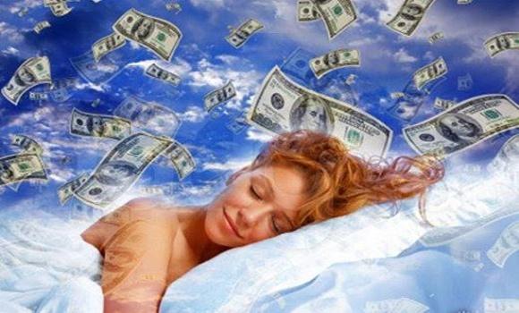 álmodni pénzt keresett