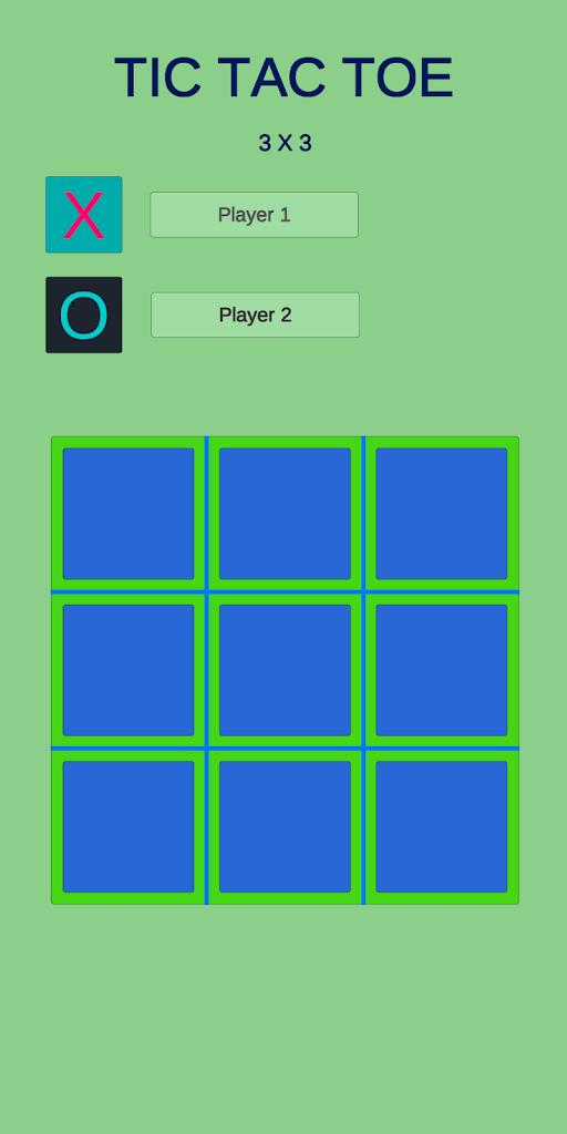 Tic Tac Toe játék - játssz ingyen játék - játék