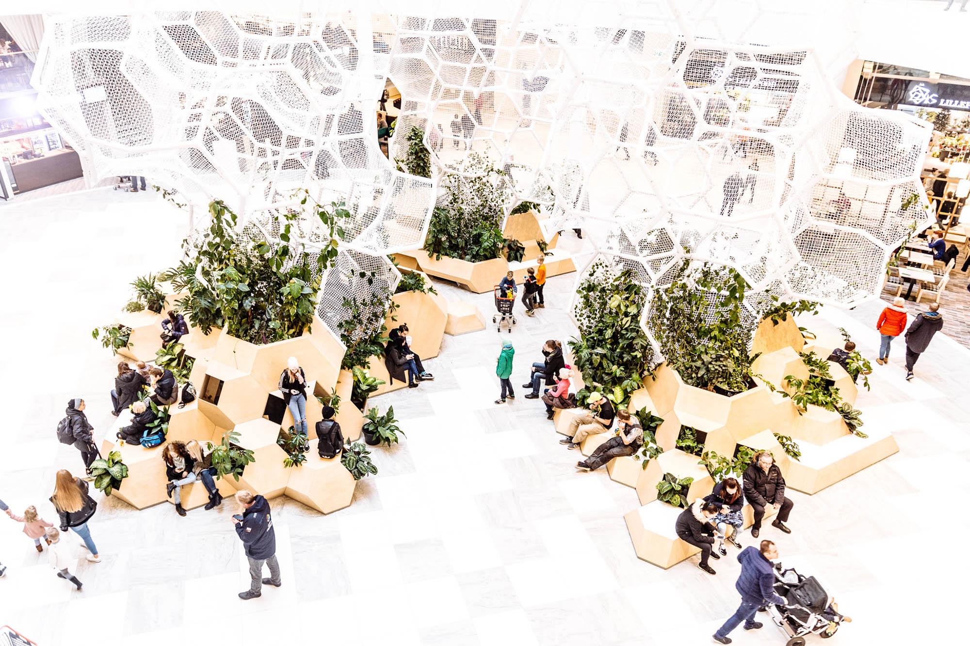 Új bevásárlóközpont nyílt a legendás Wertheim Nagyáruház helyén