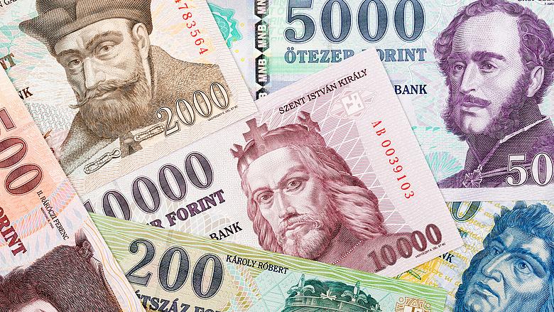 hullámzó készpénz