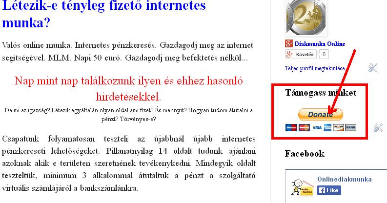internetes kereset nélkül