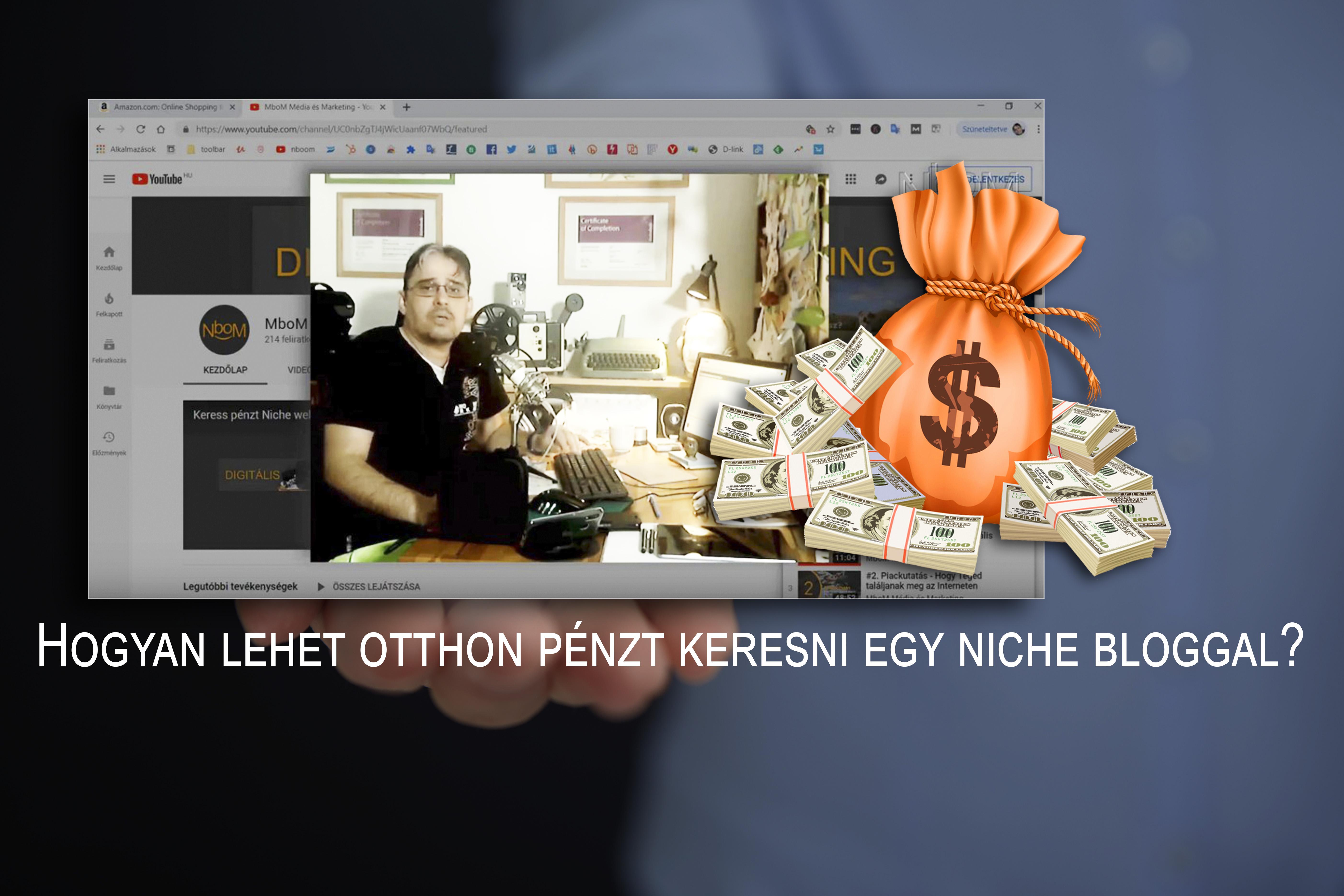 weboldal, ahol pénzt lehet keresni jelölje meg a bináris opciók videót