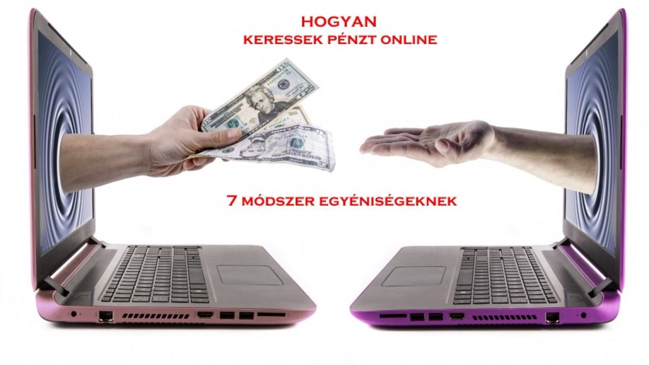 internetes oldalon pénzt keresni