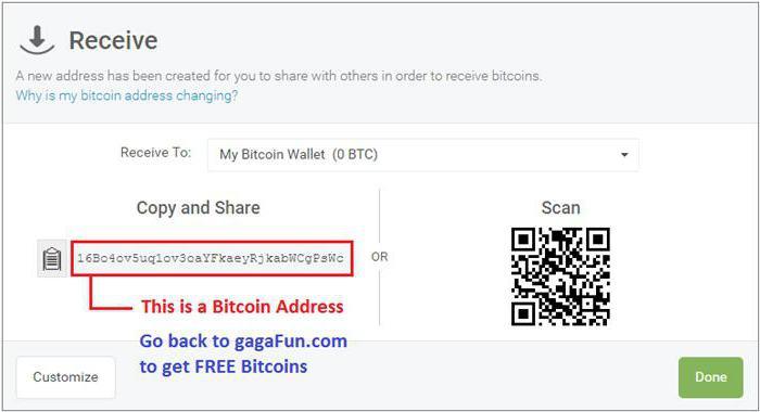 hogyan lehet bitcoin címet létrehozni