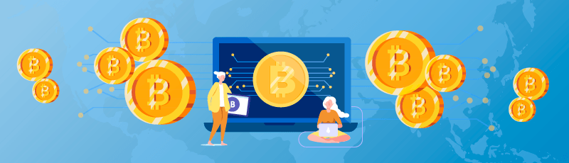 A koronavírus a Bitcoint is elérte, összeesett az árfolyam
