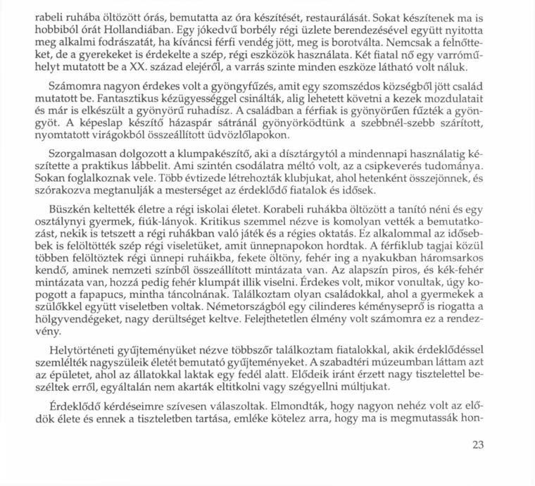 Móricz Zsigmond: Légy jó mindhalálig Regény XI. fejezet,